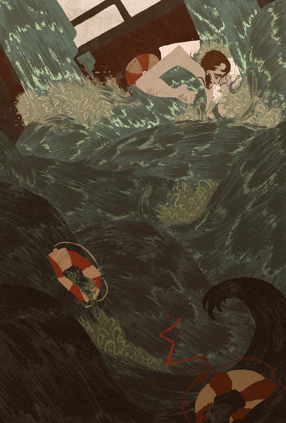 Lost At Sea   c.billadeau
