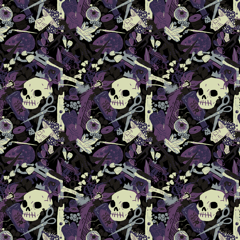 Witchy - Poisonous Variant, Tiled | c.billadeau