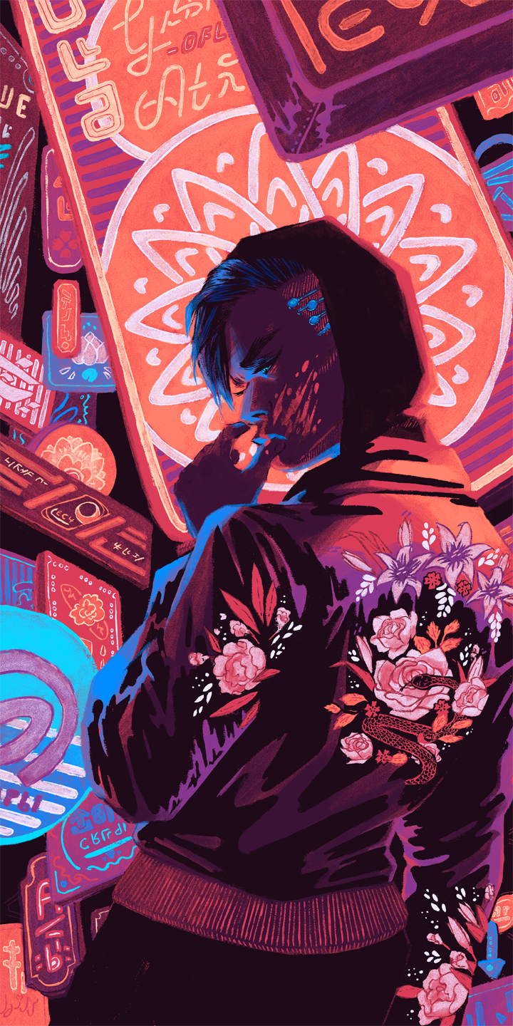 Neon Element | c.billadeau